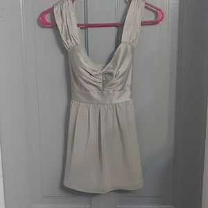 Simply Perfect Adorable Grey Baby Doll Chiffon Top